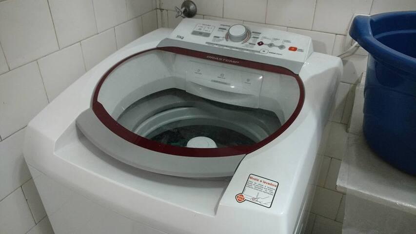 Maquina de lavar roupas automatica lava 11 kgs