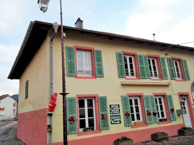 Frontière Alsace Gîte Clémentine 8 (9/10)pers 2 BB