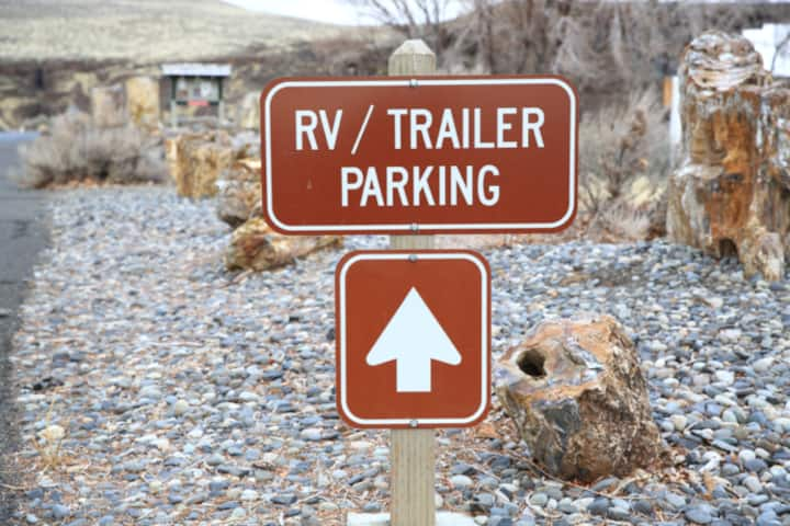 Parking for RV, camper, semi truck, van, ect.