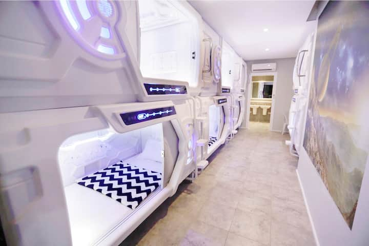 MEDUSA HOTEL Bed in 6-Bed Mixed Dormitory Room