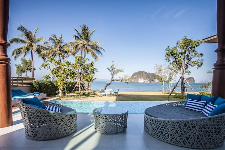 Holiday Villa ( New seafront villa in Krabi ! )