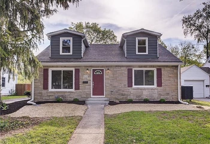 Charming Broad Ripple Home