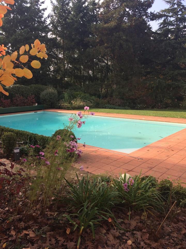 Le Pool-house séjours de charme Techlid Lyon