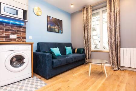 Modern & equipped flat near Montmartre
