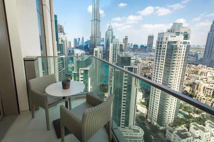 2 Bedroom with Burj khalifa view