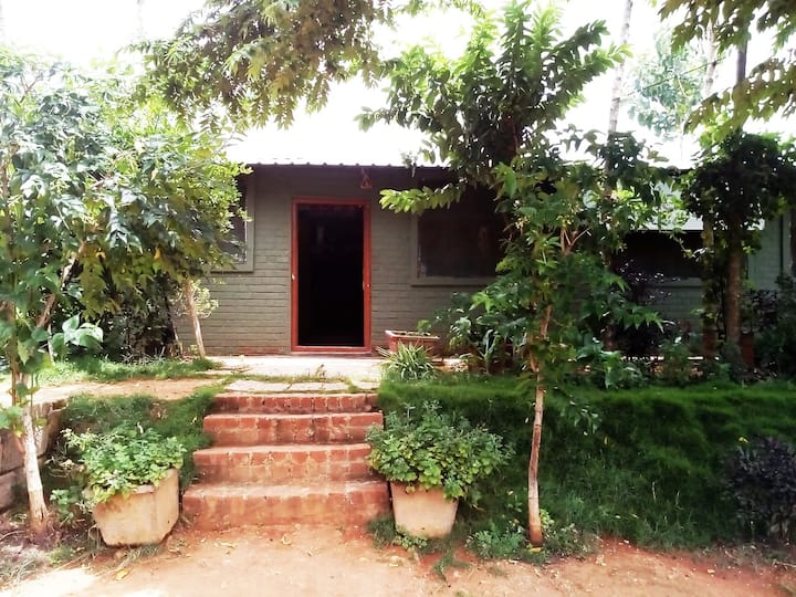 Farm House & Camping Near Nandi Hills (with Cook)