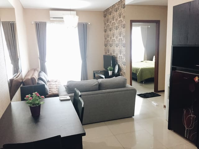 2 BEDROOM APARTMENT GREAT LOCATION! CENTRAL JKT