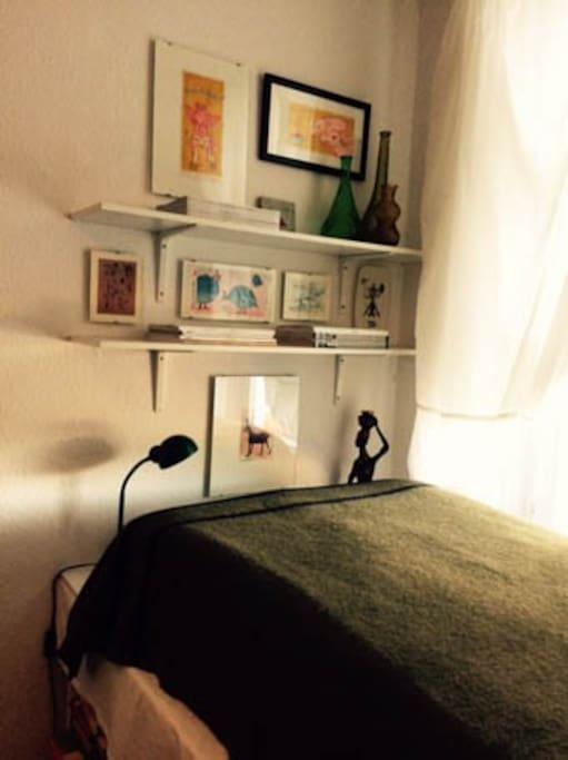 Das Zimmer.
