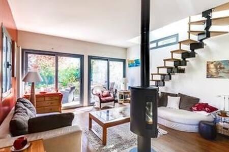 Chambre calme ds maison conviviale et ZEN - Villennes-sur-Seine - Bed & Breakfast