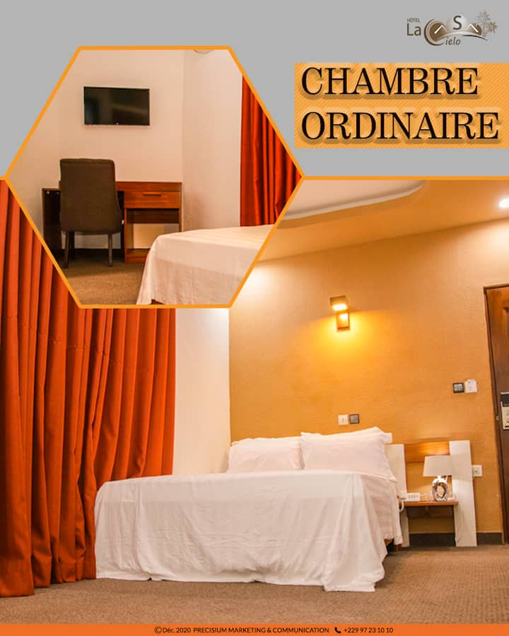 Prestige Room with Pool View in Cotonou