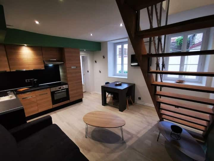 Appartement 36m² avec 1 chambre et un canapé lit