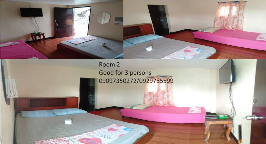 This is the room for this listing Room 2 Good for 2-3 persons