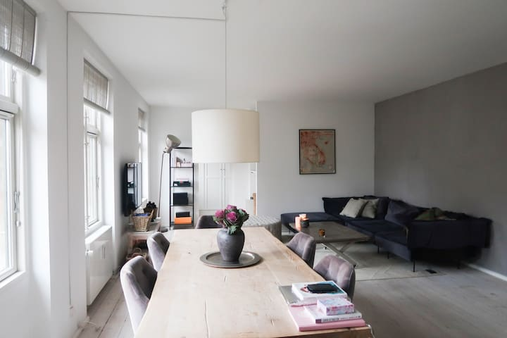 Beautiful private apartment in the center of CPH