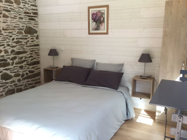 Chambre double confort - Guignen - Bed & Breakfast