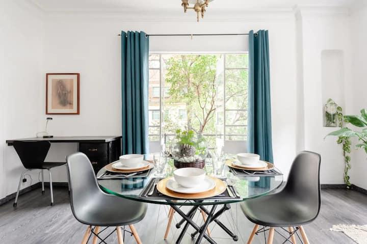 In the heart of Condesa cozy apartment in CDMX