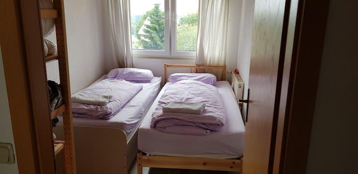 Gemütliches Bett in Oberhof