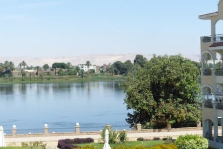 A beautiful studio on the banks of the Nile