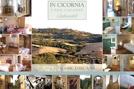 In Cicornia your Tuscan home - Radicondoli
