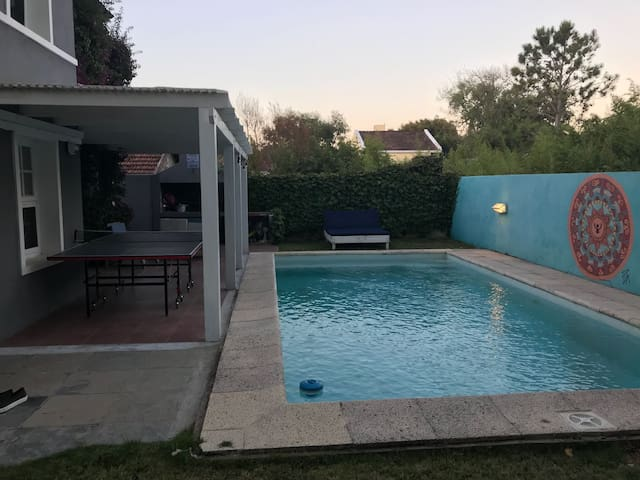 3 bedroom house with  1 room private pool  suite