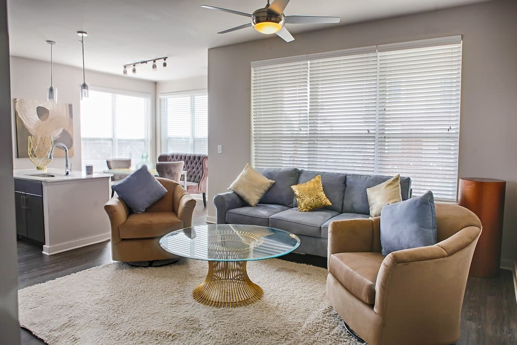 Living Room features a sofabed for additional guests