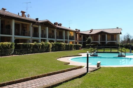 beautiful home to lake garda whith pool!! - Raffa - Apartamento