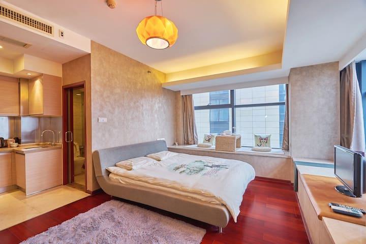 西湖边精装公寓,杭州最好的地段,靠近南宋御街和河坊街.Best place in Hangzhou. - Hangzhou - Flat