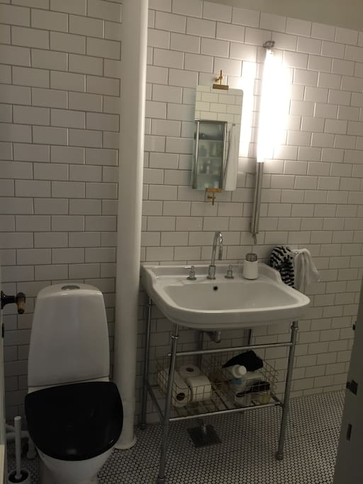 Bathroom - including washing machine and tumble dryer