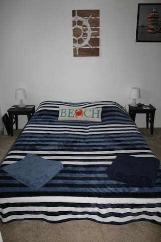 Beach style room in a nice house-apartment - Chula Vista - Appartement