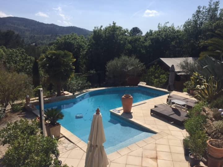 SafariZelt mit Pool auf privatem grossen Anwesen