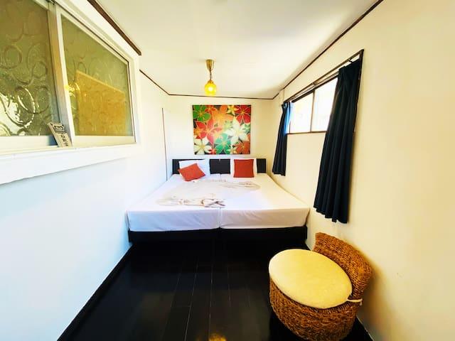 6名宿泊可能|沖縄古民家|BBQ|古宇利島、屋我地島へのアクセス良好です!