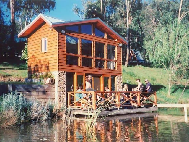 The romantic lake house