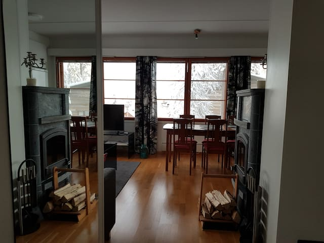 Beautiful apartment, great location (Ruka Center)