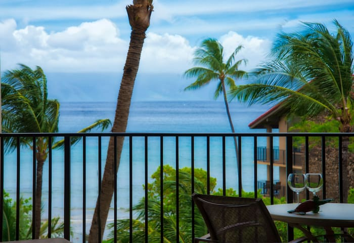 Kaanapali Shores Double Oceanview Resort Living