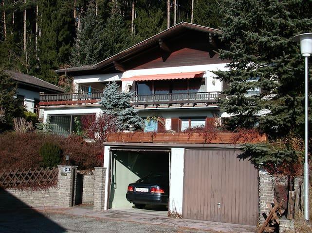 Дом у леса в курортной зоне.