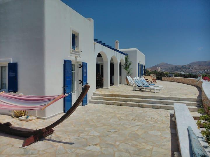 villa near the sea with breathtaking view