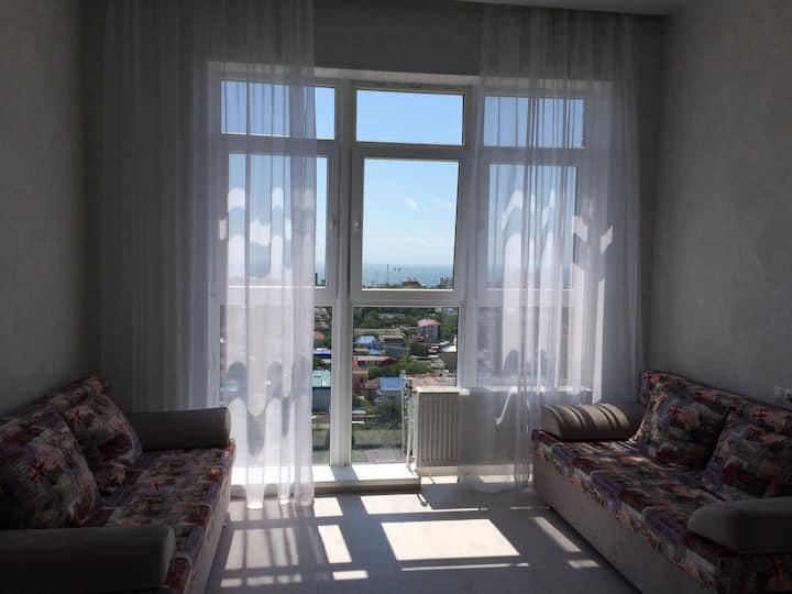 Квартира с видом на море в новом ЖК «Огни Анапы»