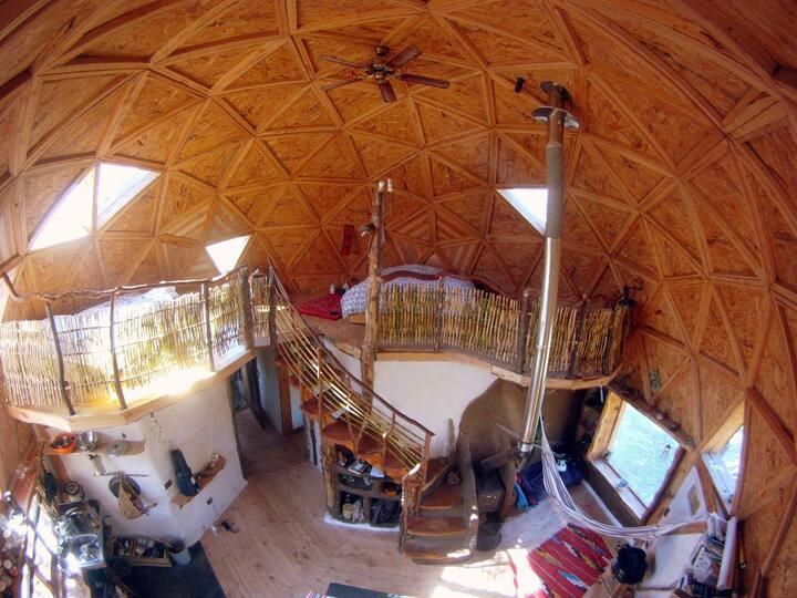 Cabaña domo (hasta 5 personas) por semana