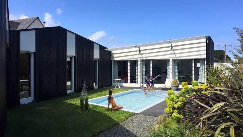 Maison contemporaine très calme - Étables-sur-Mer - Casa