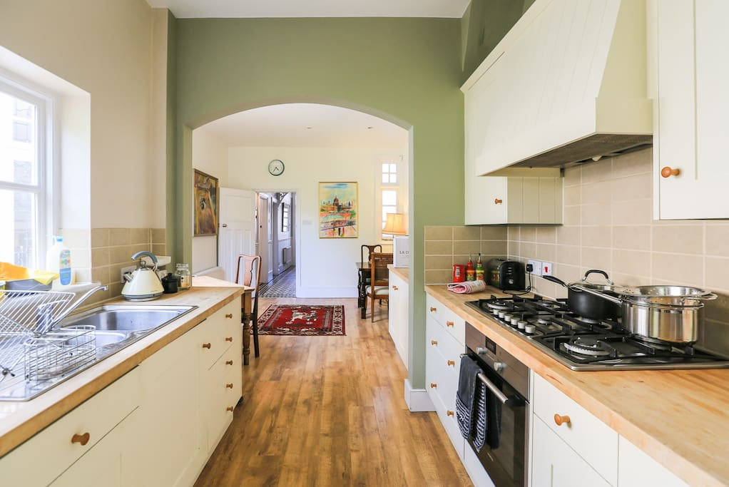 Charming and spacious loft room in character home