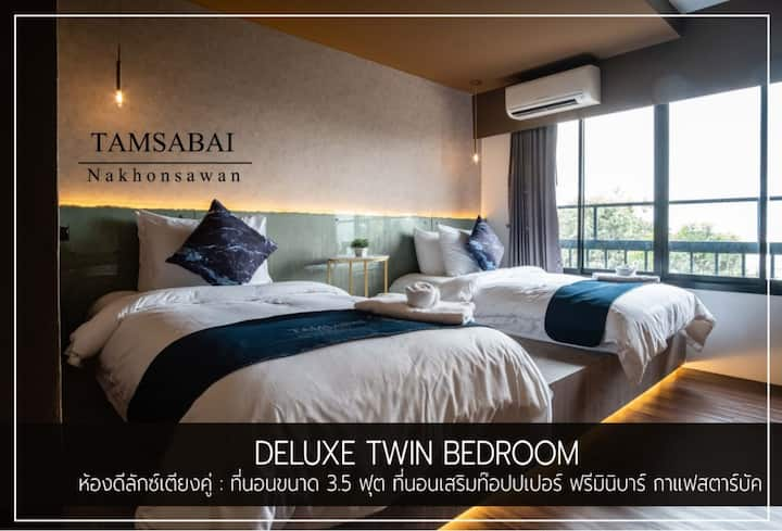 Tamsabai - Deluxe Twin Bed