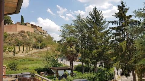 Appartamento Val D'Orcia DELUXE 1 wifi e giardino