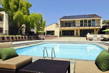 2 BR/1 BA apartment BAY TRAIL (walking/cycling) - Foster City - Lakás