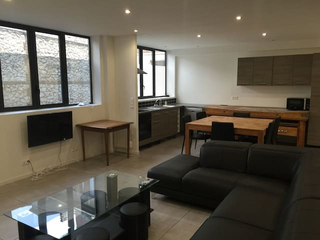 Loft avec parking - Rouen - Apartment