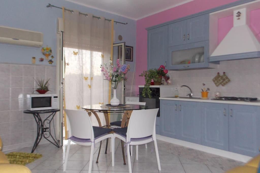 cucina/soggiorno