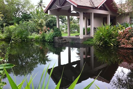 LAKE HOUSE w Tropical Garden