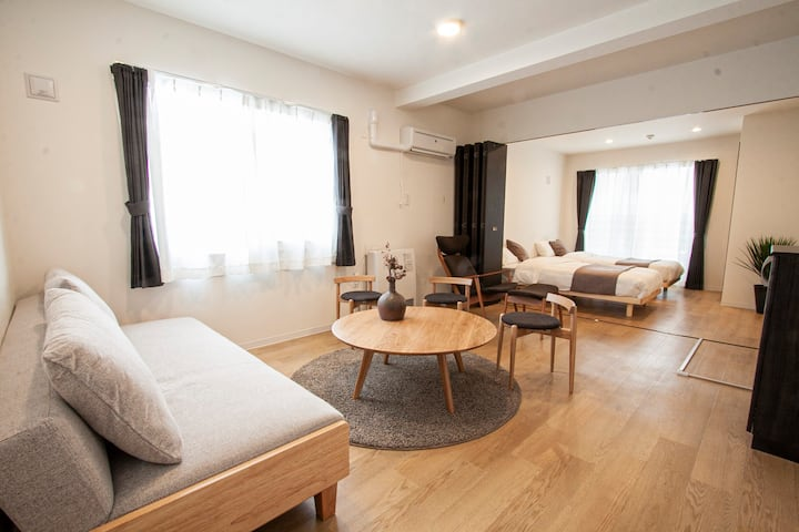 Newly built!/easy access to Susukino area/R2