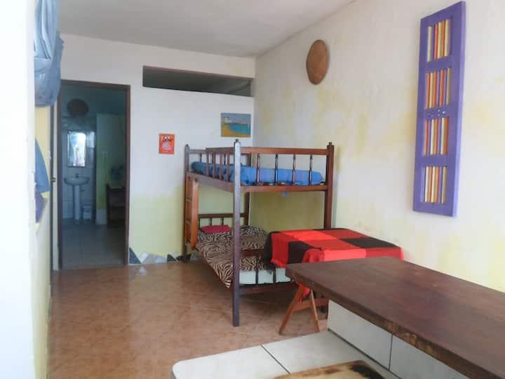 aconchegante apartamento com vista da bahia