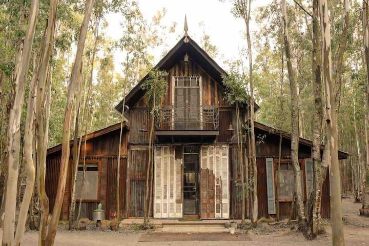 """Casa en el bosque """"El Establo"""""""