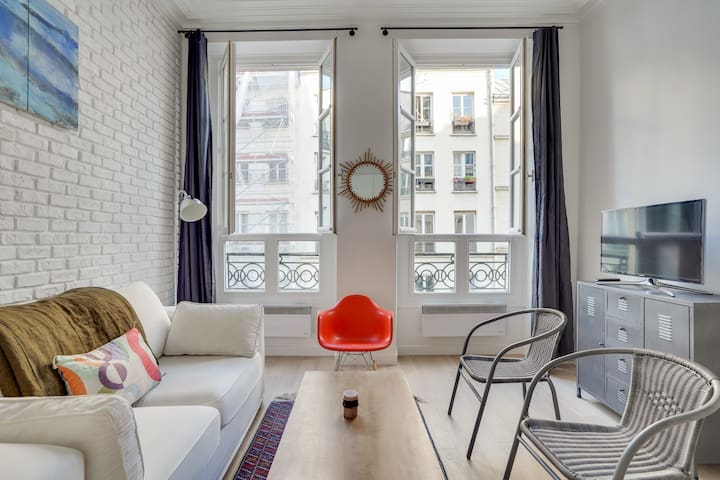 Charming and trendy apartment, heart of Paris