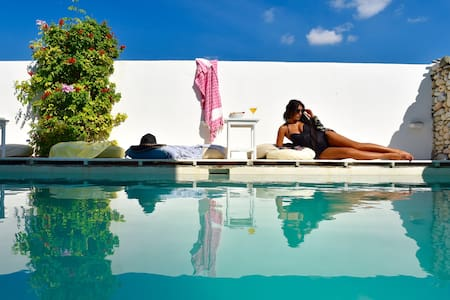 Double room for 2 persons in Paros - Αλυκή - Bed & Breakfast - 1